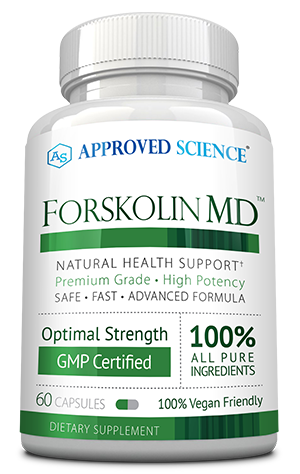 Forskolin MD ingredients bottle